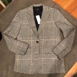 J. Crew Jackets & Coats - NWT J Crew Glen Plaid Blazer